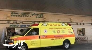 مجدل شمس: إصابة رجل (70 عاما) بجراح خطيرة