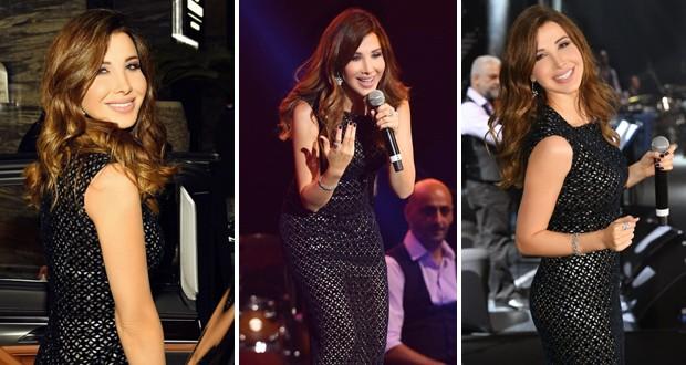 نانسي عجرم تحيي حفلًا غنائيًا ضخمًا في دبي