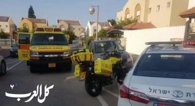 حيفا: إصابة رجل إثر سقوطه عن سلم
