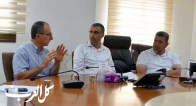 مدير المركز الطبي باده بوريا يزور مجلس كفركنا