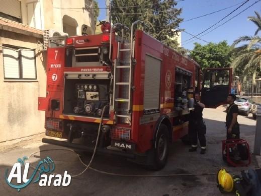 القدس: اندلاع حريق داخل منزل في البلدة القديمة