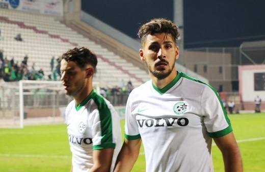 ادارة مكابي حيفا تجدد عقد قلب الدفاع عايد حبشي