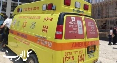 المركز: إصابة عامل في موقع بناء وحالته خطيرة