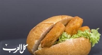 طريقة تحضير ساندويش الزنجر الشهي
