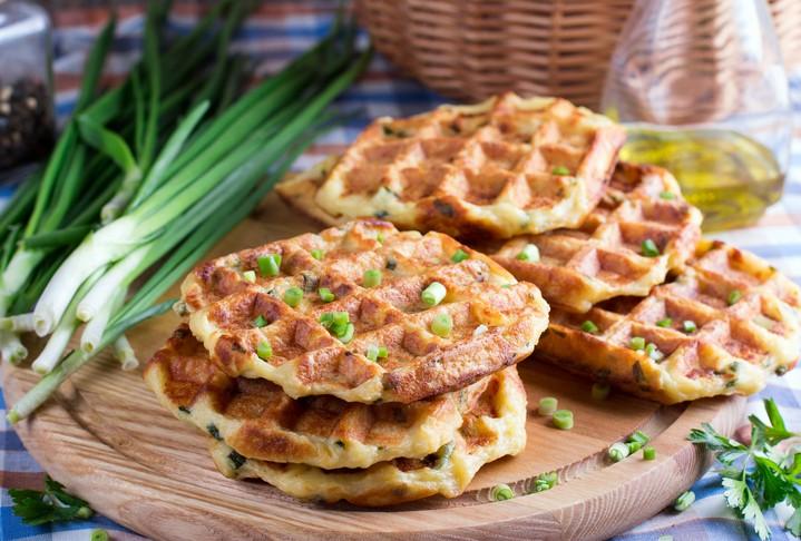 وافل البطاطا الشهي للفطور..صحة وهنا