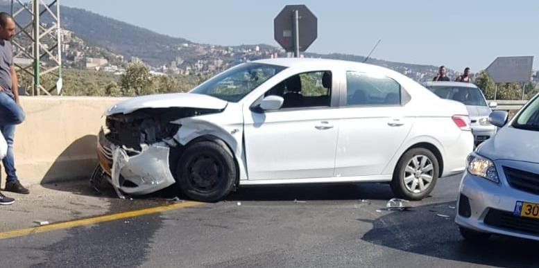 حادث طرق بين وادي سلامة وعرابة يسفر عن إصابات