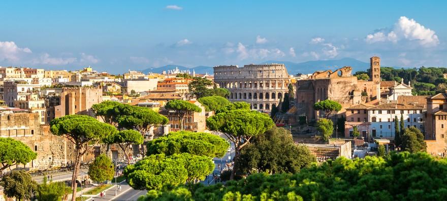 روما.. مدينة ساحرة تزخر بالعراقة والجمال