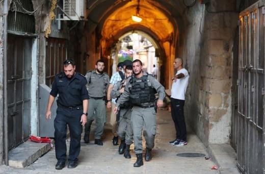القدس: اعتقال شاب عربي بعد قيامه بنشر بوست تهديد