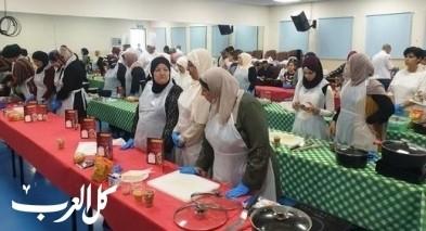 مطبخ تنوفا يقيم ورشة طبخ في يافة الناصرة