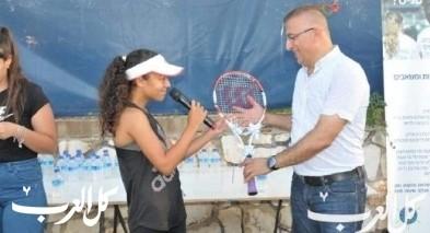 الجديدة المكر: افتتاح ملاعب التنس