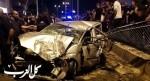 اصابة شخصين بجراح خطيرة ومتوسطة بحادث طرق في عرابة