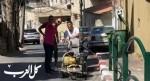 مجلس محلي الرينة يرمم الشوارع قرب المدارس