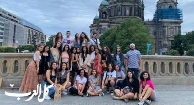 مشاركة الأمل للرقص المعاصر في ورشات بالمانيا