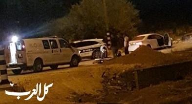 اصابة شخص باطلاق نار قرب عرب الهيب