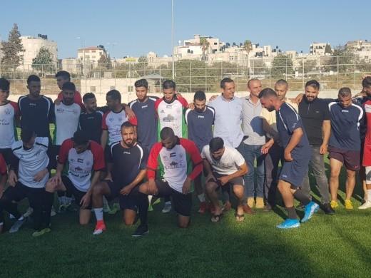 نادي دبورية في مباراة خيرية أمام نادي سلوان