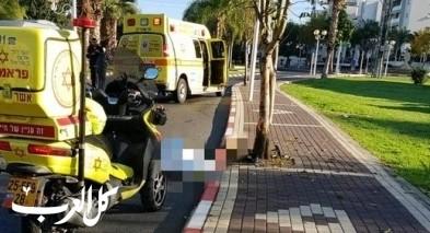 دالية الكرمل: إصابة خطيرة جرّاء حادث طرق