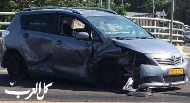 اصابتان إثر حادث طرق قرب البروة