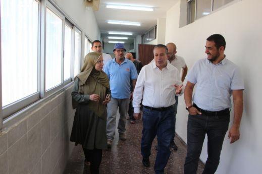 رئيس بلدية كفرقاسم: سنحدث ثورة تعليمية