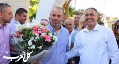 د. ساعر هرئيل يفتتح العام الدّراسي في كفرقرع