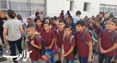 مدارس الناصرة تستقبل طلابها بأجواء مميزة