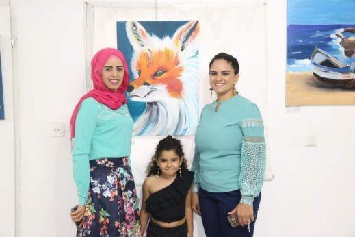 سخنين: افتتاح معرض للفنون بجاليري زركشي