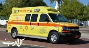 اصابة سيدة دهسًا في منطقة اشدود