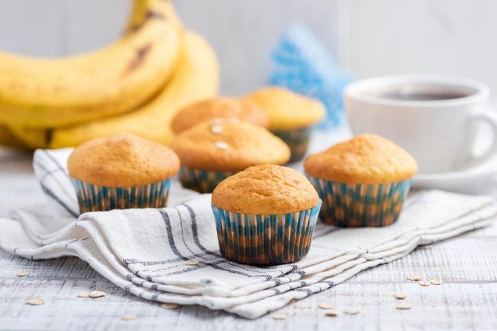 حضّري كاب كيك الموز اللذيذ لأطفالك