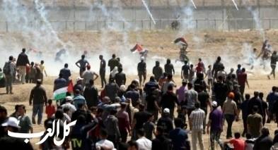غزة: شهيدان و23 إصابة خلال مسيرة العودة الـ73