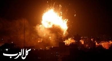 سلسلة غارات على مواقع للمقاومة في غزة