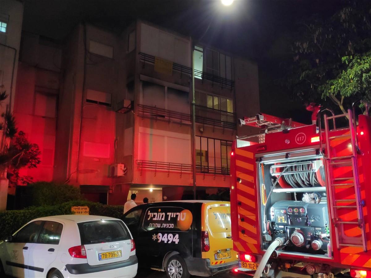 حيفا:اصابة رجل بجراح خطيرة بعد اندلاع حريق بمنزل