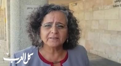 عايدة توما-سليمان:نجحنا بإفشال محاولة نتنياهو سرقة