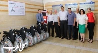 بنك هبوعليم يتبرع للمستشفى الإنجليزي في الناصرة