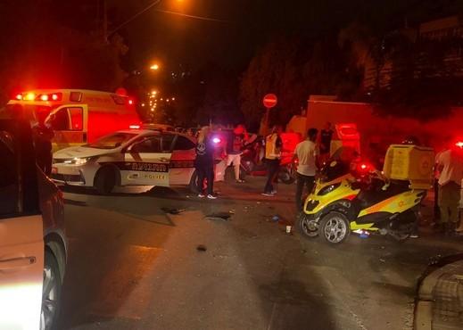 إصابة خطيرة إثر حادث طرق قرب بلدة العوجا