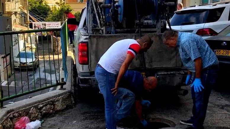 الناصرة: سكان البشارة يشتكون من مياه الصرف الصحي