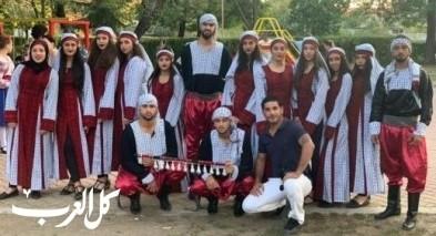 المجد النصراوية تشارك بمهرجان دولي في بلغاريا