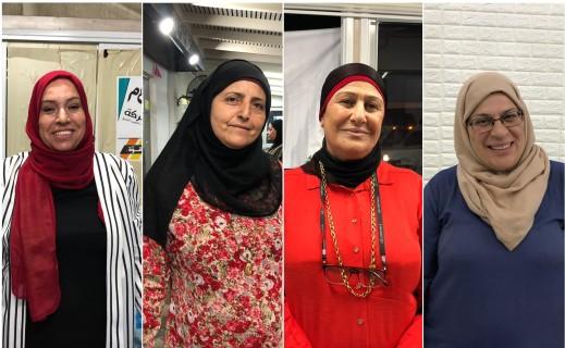 حركة انتخابية نشطة في أوساط نساء المثلث