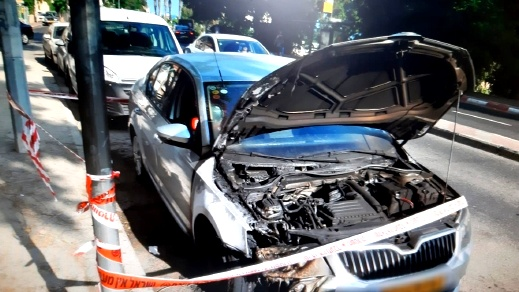 حيفا: اندلاع نيران بسيارات وشبهات بالاضرام المتعمد