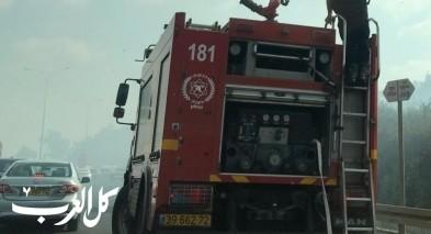 اندلاع حريق في كريات بيالك