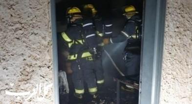 يركا: اضرام النيران بمبنى دون اصابات