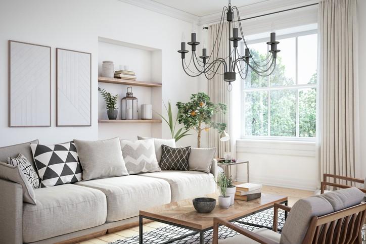 صور: أفكار مميزة لديكور غرفة الجلوس