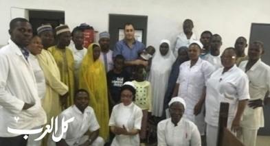 د. عروة ناصر يتطوّع في نيجيريا
