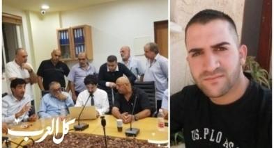 اضراب في باقة الغربية بعد مقتل محمد ابو حسين