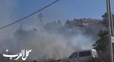 اندلاع حريقين في مدينة الناصرة