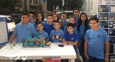 مشاركة طلاب الروبتيكا بمدرسة الطور بمهرجان الحداثة
