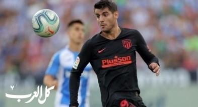 عودة ألفارو موراتا الى تدريبات أتلتيكو مدريد