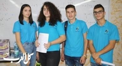 التبرع بالدم من طلاب البيان دير الاسد