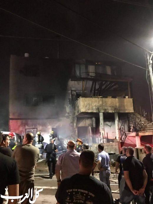 ميسر: مجهولون يضرمون النيران في بيت وسيارة