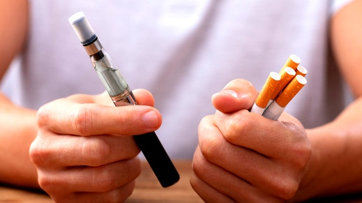 السجائر الإلكترونية وضررها على اللثة والأسنان