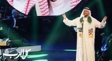 حسين الجسمي يحتفل باليوم الوطني السعودي