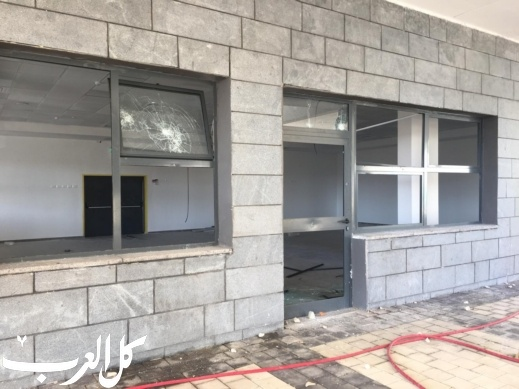 طرعان: مجهولون يقومون بأعمال تخريب في مدرسة